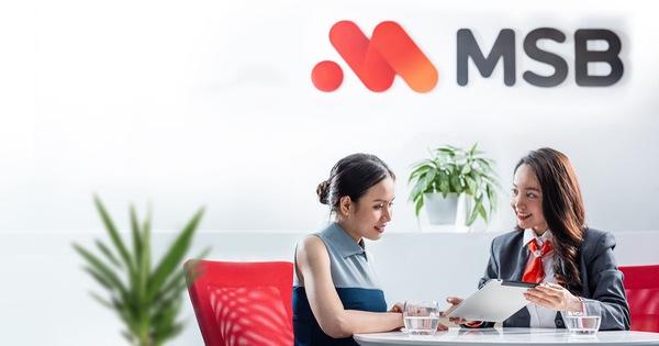 MSB đạt lợi nhuận gần 290 tỷ đồng trong Quý I/2020