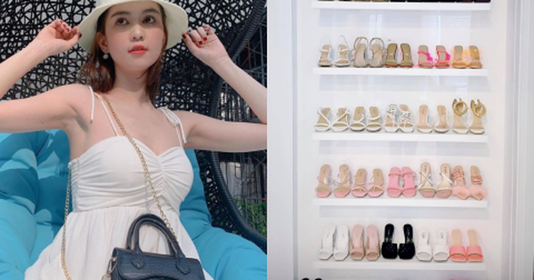 Vắng show chậu mùa dịch, Ngọc Trinh vẫn khoe thành quả mua sắm gây choáng: Sơ sơ cũng 40 đôi giày!