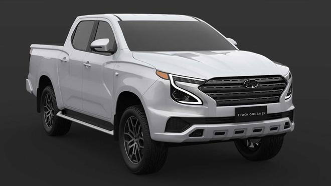 Xem trước Hyundai Tarlac: Xe bán tải Hàn Quốc tham vọng đối đầu Ford Ranger-4