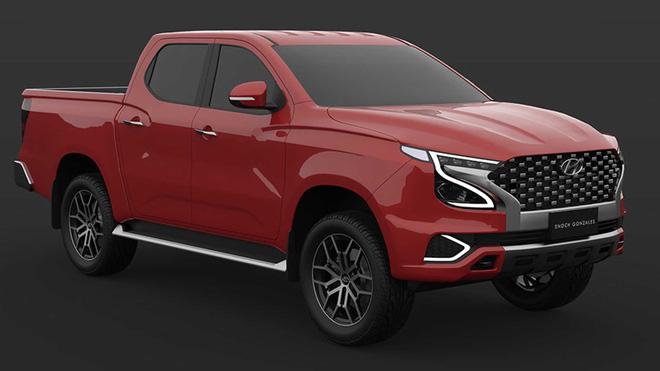 Xem trước Hyundai Tarlac: Xe bán tải Hàn Quốc tham vọng đối đầu Ford Ranger-3