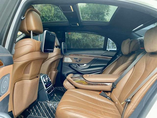 Mercedes-Benz S 400 độ phong cách Maybach bán lại với giá ngang BMW 330i đời mới-4
