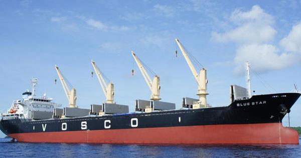 Ảnh hưởng dịch bệnh khiến vận tải biển tê liệt, Vosco báo lỗ 86 tỷ đồng trong quý 1