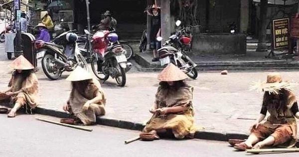 Nhóm người đi ô tô hạng sang giả ăn xin ở phố cổ Hội An bị phạt 67,5 triệu đồng