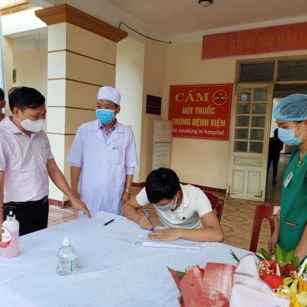 Bệnh nhân cuối cùng tại Hà Tĩnh nhiễm Covid-19 đã được xuất viện