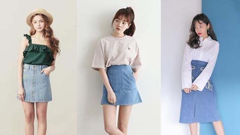 """5 kiểu chân váy cứ diện cùng áo phông là """"xinh đừng hỏi"""""""