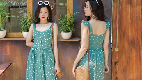 5 kiểu váy hai dây mát rượi, diện lại sang chảnh hết mức trong ngày hè nắng nóng