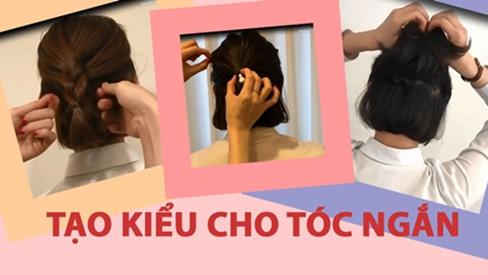 3 cách tạo kiểu cho tóc ngắn vừa xinh vừa mát trong mùa hè nắng nóng