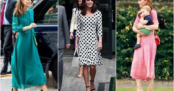 Mùa Hè chăm diện váy vóc, học theo Công nương Kate cách chọn giày với váy thì style của các chị em còn thăng điểm vài phần