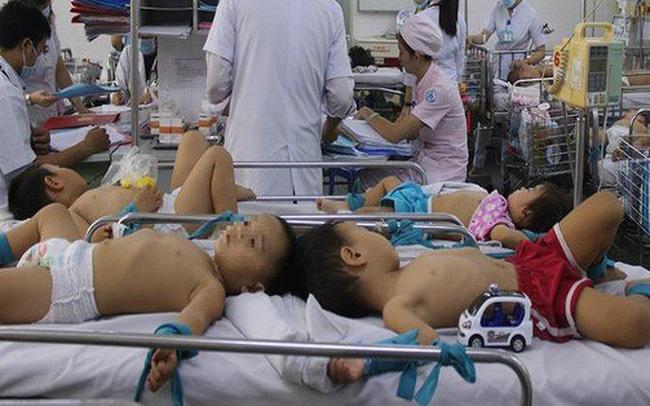 Hết sức cẩn trọng với bệnh tay chân miệng ở trẻ-1
