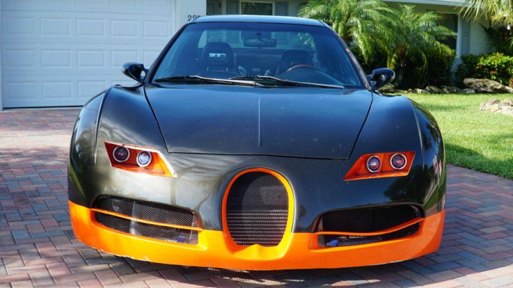 """Choáng với """"siêu xe"""" Bugatti Veyron rao bán chỉ hơn 100 triệu đồng"""