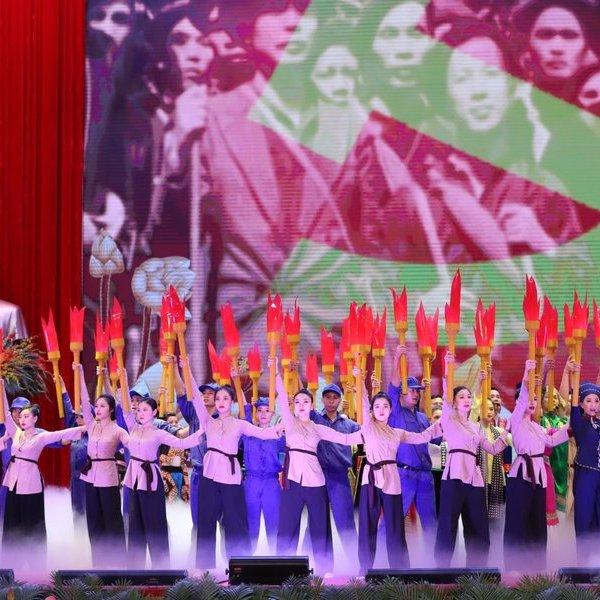 Lễ kỷ niệm trọng thể 130 năm ngày sinh Chủ tịch Hồ Chí Minh