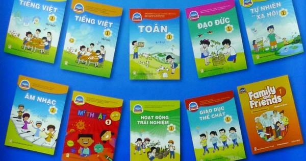 Nhiều địa phương đã công bố kết quả lựa chọn sách giáo khoa lớp 1 năm học 2020-2021