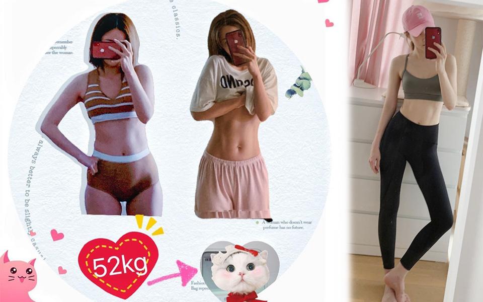Từ 52kg xuống 45,9kg trong 3 tháng: cô gái Hồng Kông chia sẻ bí quyết ăn uống, tập tành nhanh gọn để tạo ra cơ bụng hoàn hảo