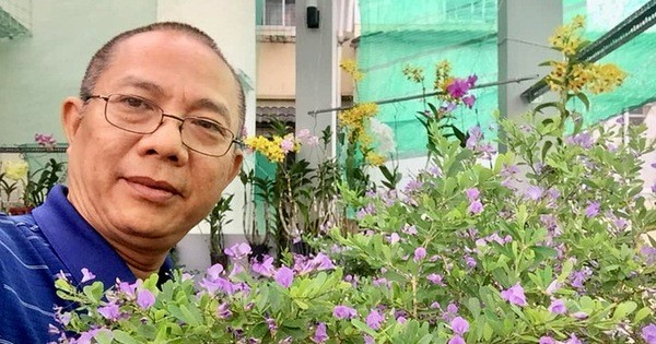 Ghé thăm vườn rau và hoa trên sân thượng của nghệ sĩ Trung Dân