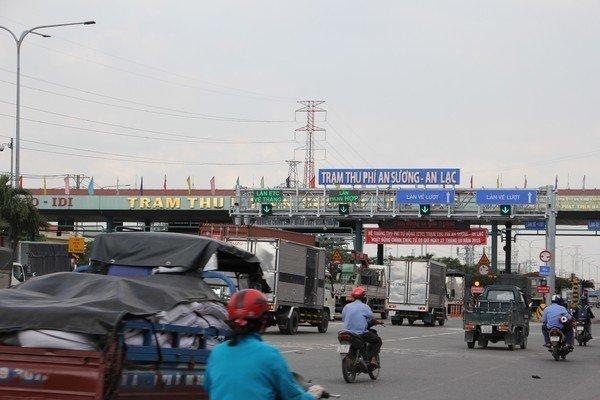 7 dự án BOT giao thông bị đề nghị giảm thời gian thu phí 56,4 năm
