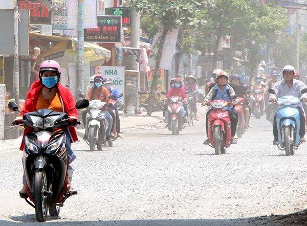 Dự thảo Luật Giao thông đường bộ sửa đổi đề xuất kiểm tra định kỳ khí thải xe máy