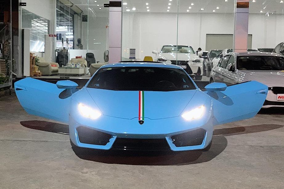 'Hàng hiếm' Lamborghini Huracan LP580-2 từng được rao bán giá 13 tỷ đồng tiếp tục về tay đại gia Sài Gòn