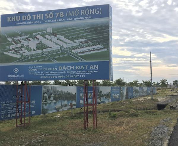 Quảng Nam đôn đốc Bách Đạt An hoàn thành 8 dự án