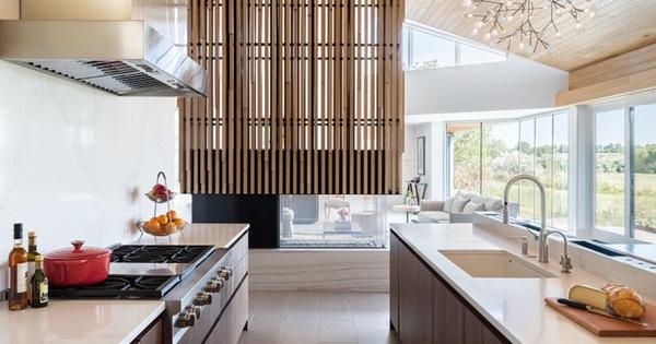 Những căn bếp gỗ vừa truyền thống vừa hiện đại khiến ai ai cũng thấy vừa lòng