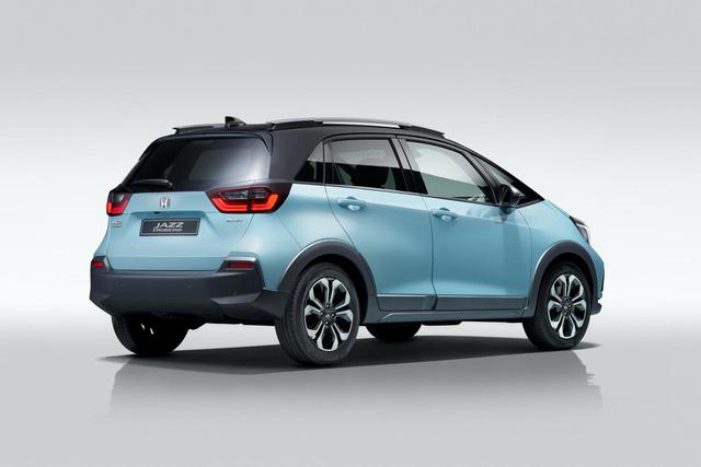 Honda dồn sức cho 'SUV fake': Nhỏ như hatchback nhưng cao như SUV-3