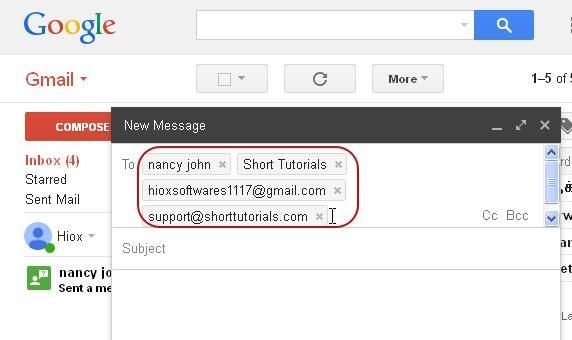 Cách tạo nhóm liên hệ để gửi thư cho nhiều người trên Gmail