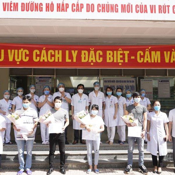 4 bệnh nhân mắc Covid-19 tại BVĐK Thái Bình được công bố khỏi bệnh