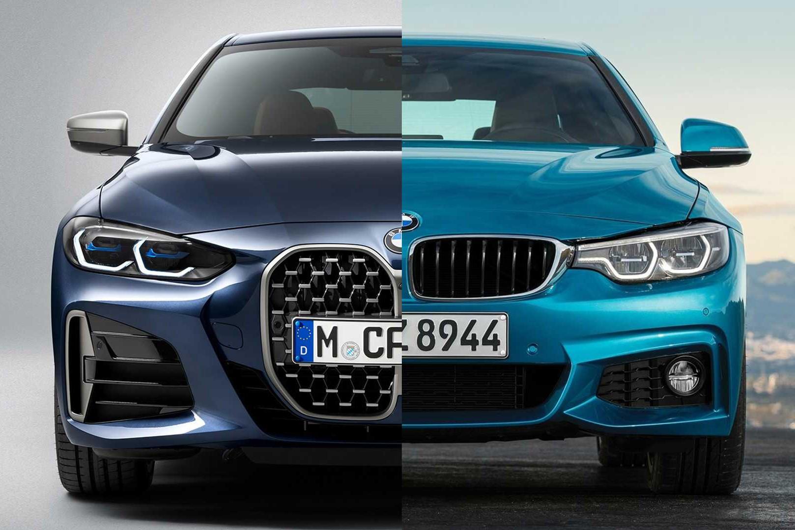Ngoài tản nhiệt lớn gấp 3 lần, BMW 4-Series 2021 lột xác ra sao so với người tiền nhiệm?