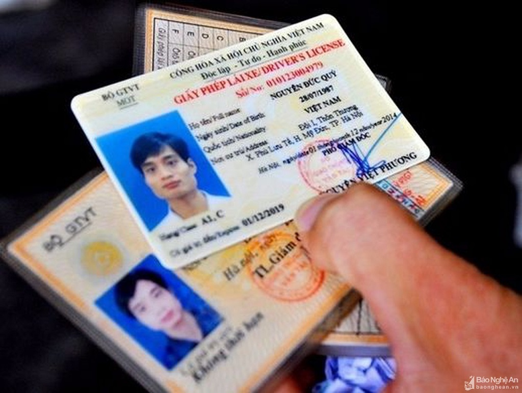 Giấy phép lái xe in sau ngày 1/6 sẽ buộc phải có mã QR