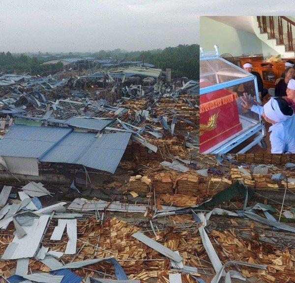 Ám ảnh đám tang không kèn, không trống của nạn nhân vụ lốc xoáy tại Vĩnh Phúc