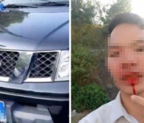 Sự thật tài xế bị đánh khi đang làm việc với Thanh tra giao thông