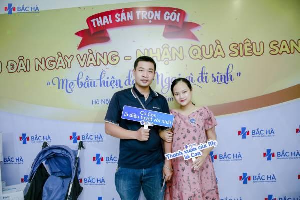 """Hơn 300 mẹ bầu tham gia sự kiện """"Ngày vàng thai sản - Nhận quà siêu sang"""""""