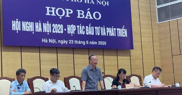 """Hội nghị """"Hà Nội 2020 - Hợp tác Đầu tư và Phát triển"""": Sẽ trao quyết định đầu tư cho 116 dự án với tổng vốn hơn 15,5 triệu USD"""