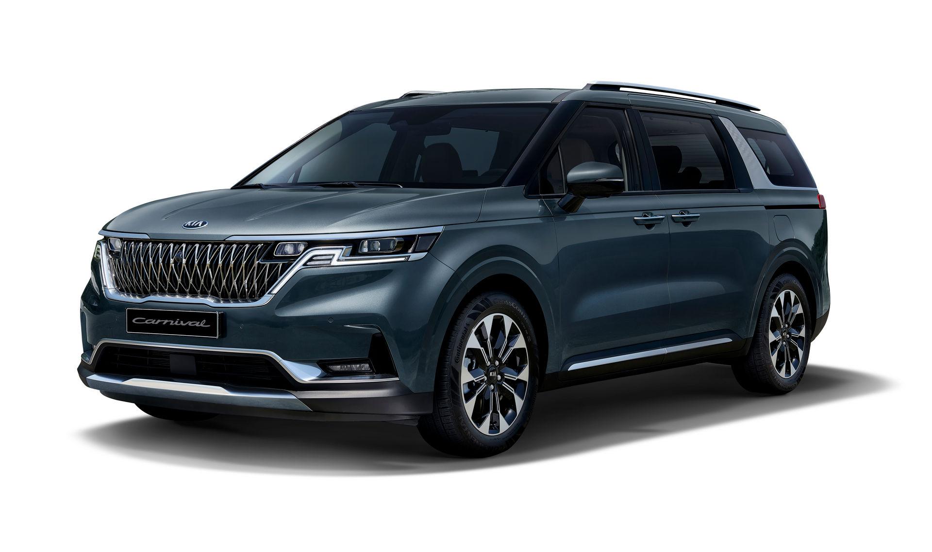 Xem trước phiên bản mới Kia Sedona 2021: lột xác về ngoại thất, tiệm cận SUV