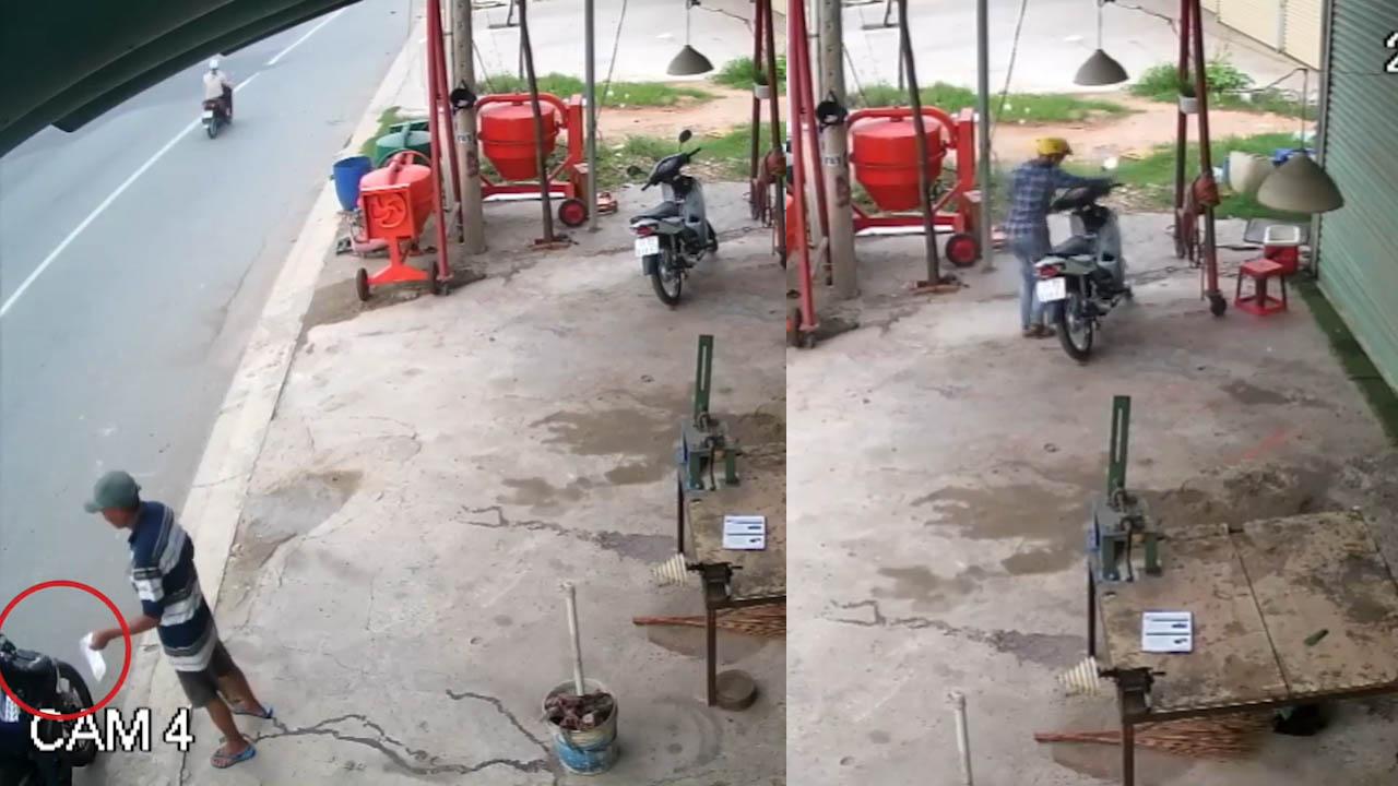 Hai đối tượng dàn cảnh lừa cướp xe máy của người đàn ông lớn tuổi