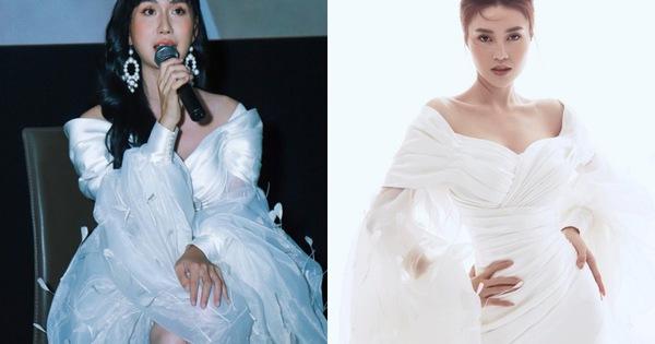 Ninh Dương Lan Ngọc đụng váy với Lynk Lee: Người