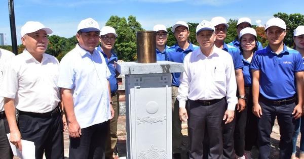 Khánh thành trạm đo mưa tự động tại di tích Quan Tượng Đài