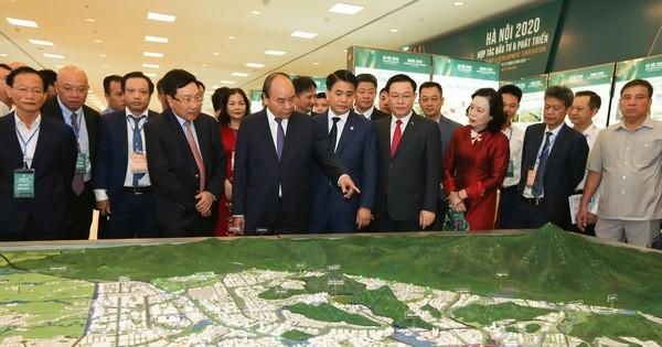 """Khai mạc Hội nghị """"Hà Nội 2020 - Hợp tác Đầu tư và Phát triển"""""""