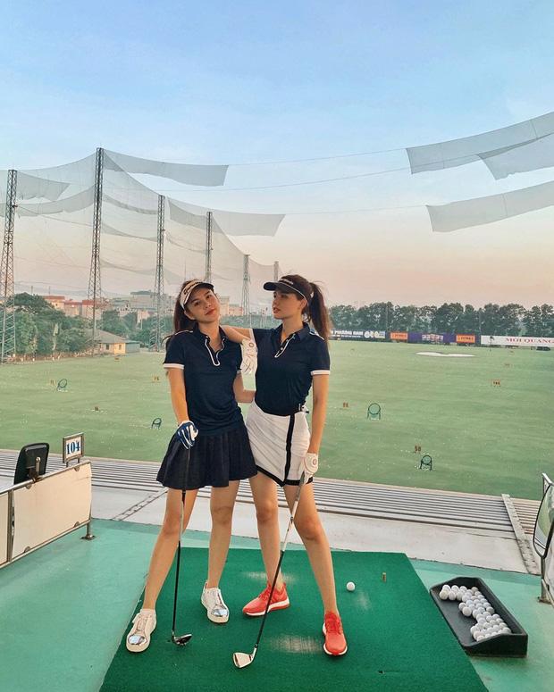 Không hẹn mà gặp hội mỹ nhân Việt đều check-in ở sân golf: 1 buổi chơi golf có lợi ích bằng 1 tuần tập thể dục nên bảo sao không mê cho được-5