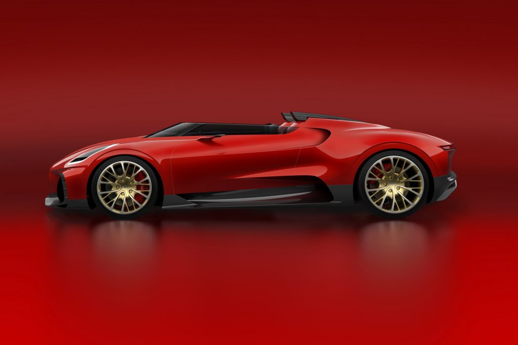 Bugatti Chiron sẽ có phiên bản độc nhất, giá chỉ thua La Voiture Noire