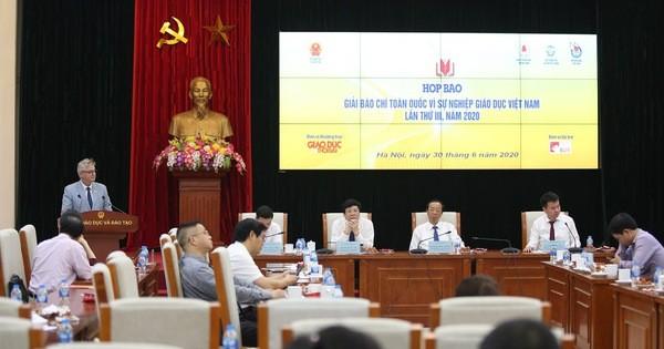Giải báo chí về giáo dục cần phát hiện những điều chưa tốt, bất cập trong báo chí viết về giáo dục Việt Nam