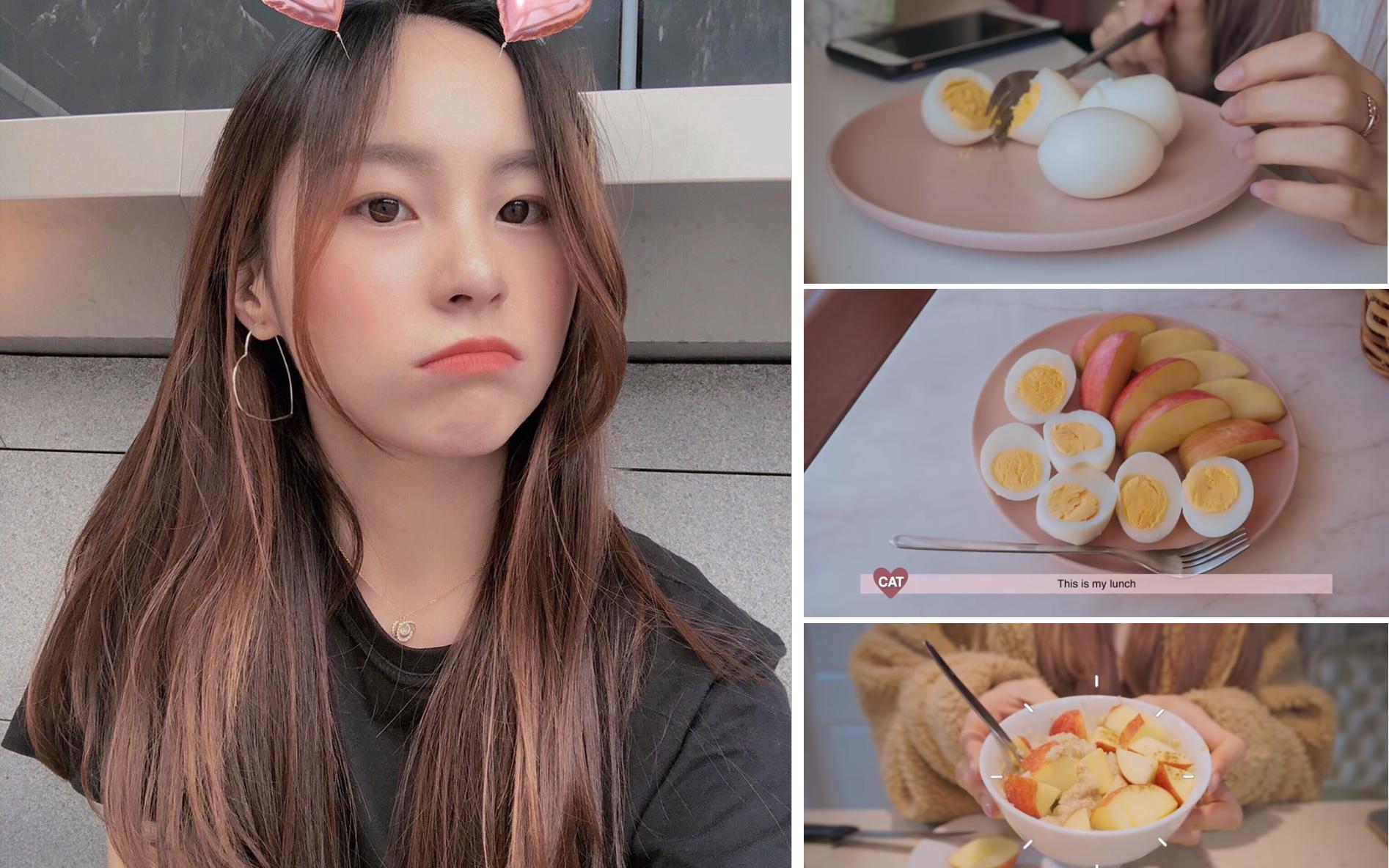 Áp dụng chế độ ăn kiêng với trứng, cô nàng vlogger xứ Hàn giảm 1.6kg chỉ sau 3 ngày