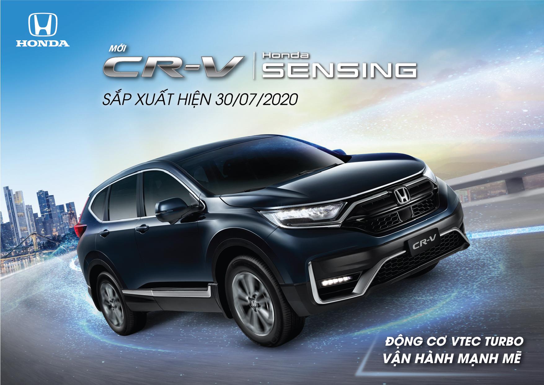 Honda CR-V 2020 chốt ngày ra mắt tại Việt Nam, sẽ được lắp ráp trong nước