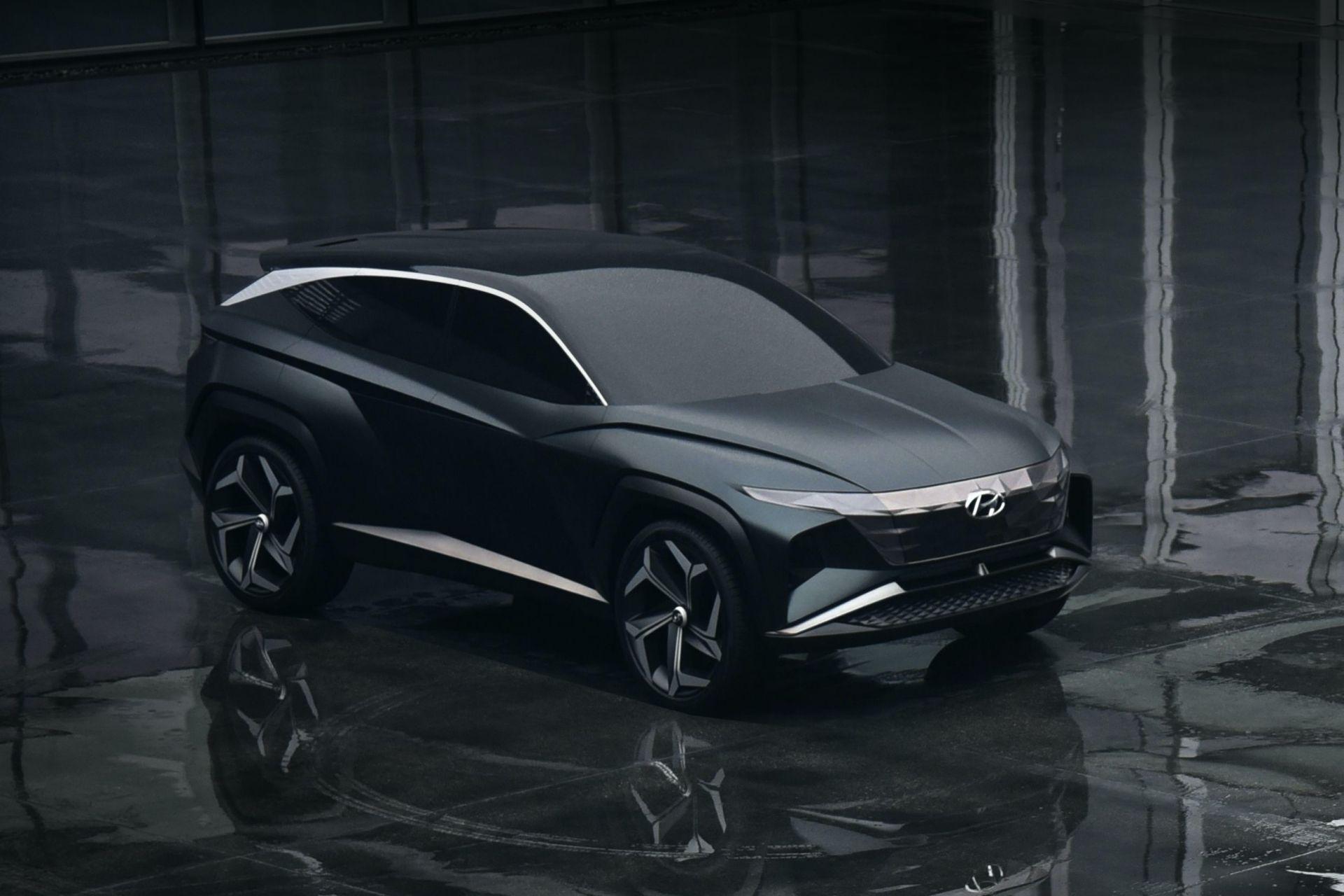 Hyundai Tucson thế hệ thứ 4 sẽ lấy cảm hứng từ mẫu xe concept Vision T