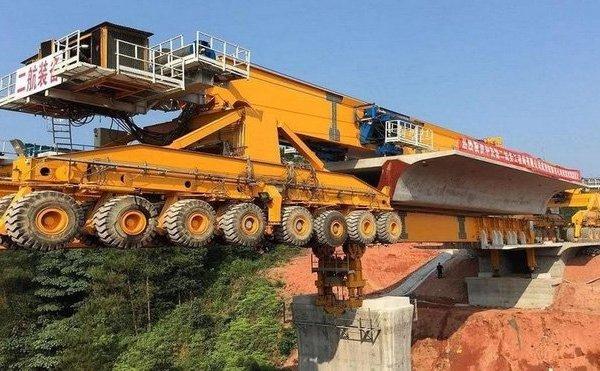 Cận cảnh cỗ máy SLJ900/32 tạo lên những cây cầu dài nhất thế giới