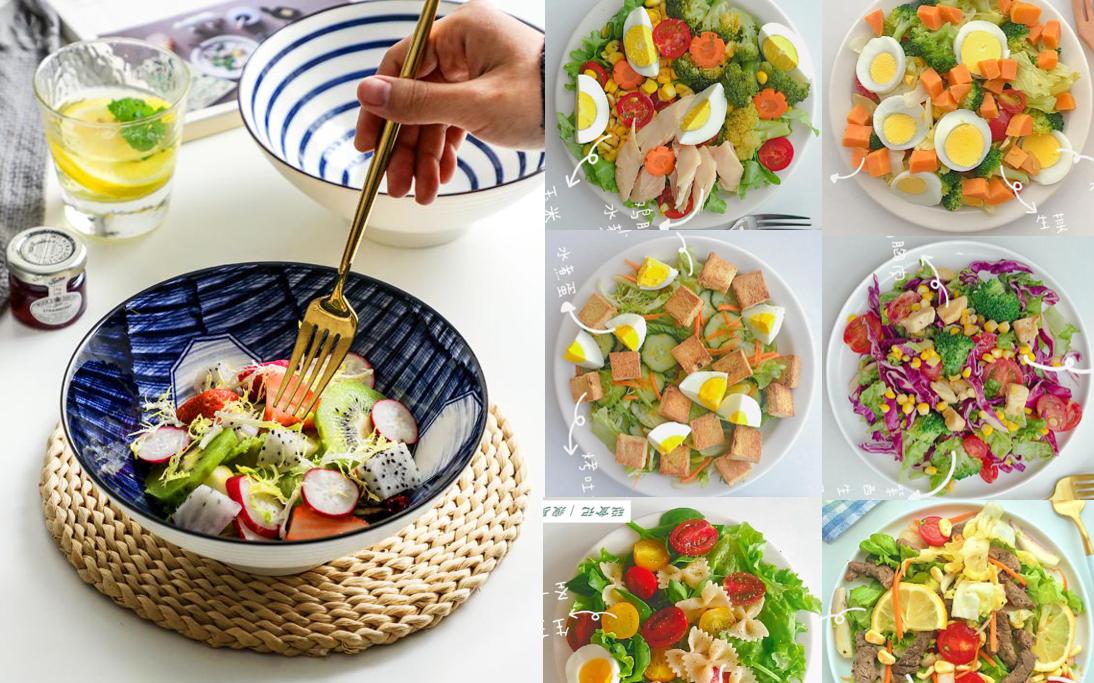 Gợi ý thực đơn salad 6 ngày cho các
