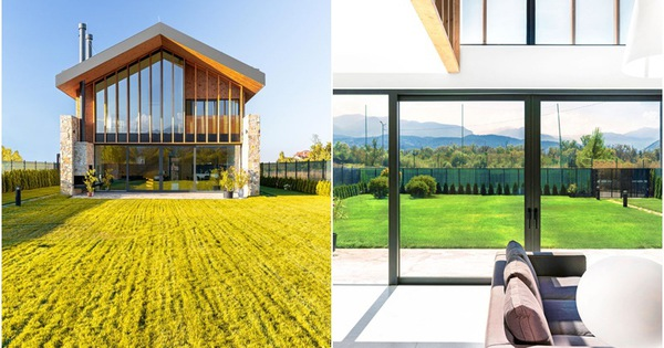 Y House: Ngôi nhà hiện đại với tường kính gói trọn vẻ đẹp mộng mơ của núi rừng