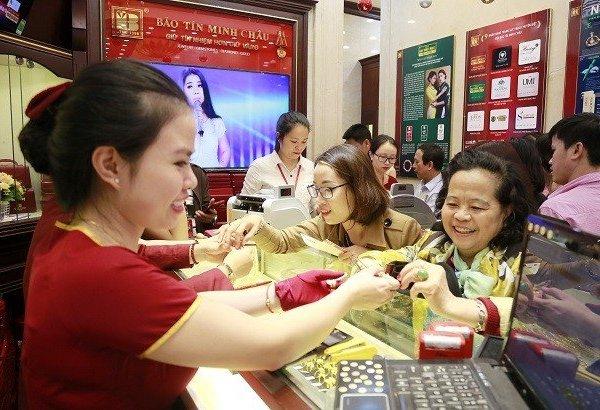 Giá vàng SJC lại tăng mạnh, bán ra lãi ngay 1,4 triệu đồng/lượng