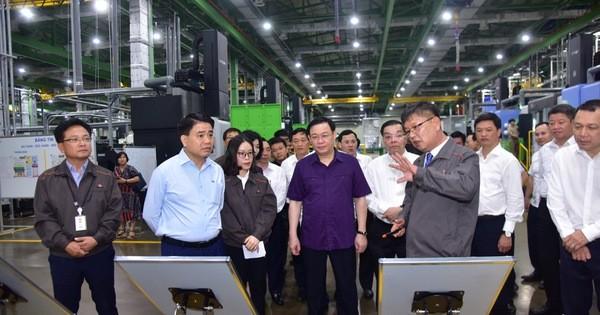 Bí thư Hà Nội: Hoàn thiện Khu CNC Hòa Lạc để nhà đầu tư