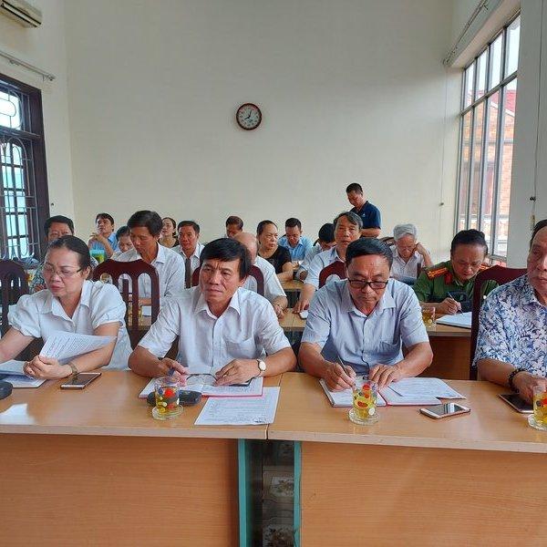 Hội Luật gia tỉnh Hòa Bình phấu đấu lập thành tích chào mừng Đại hội thi đua toàn quốc