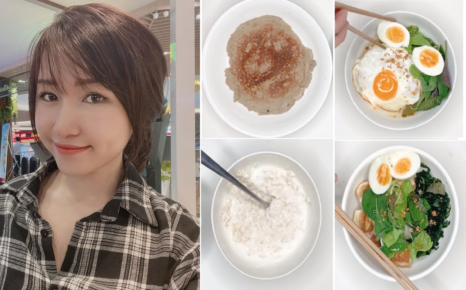4 món ăn sáng Eat Clean của Uyên Pu vừa ngon, bổ, rẻ với